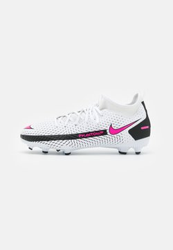 Nike Performance - JR PHANTOM GT ACADEMY DYNAMIC FIT MG UNISEX - Fußballschuh Nocken - white/pink blast/black