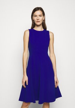 Lauren Ralph Lauren - LUXE TECH DRESS - Vestido ligero - french ultramarin