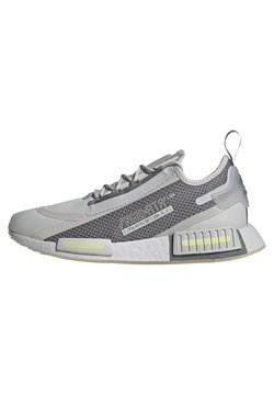 adidas Originals - NMD_R1 SPECTOO UNISEX - Sneakersy niskie - grey one/grey three/yellow tint