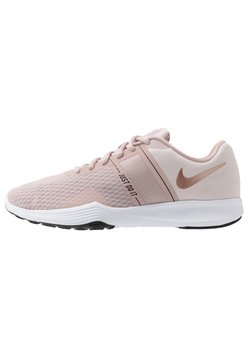 Nike Performance - CITY TRAINER 2 - Trainings-/Fitnessschuh - stone mauve/metallic red bronze/barely rose/black/metallic silver/white