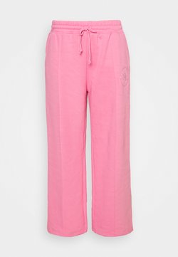 Missguided Plus - WIDE LEG JOGGER - Jogginghose - pink