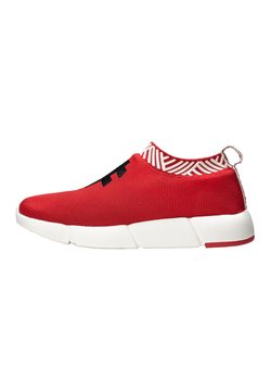 Rens Original - WATERPROOF COFFEE SNEAKERS - Zapatillas - passion red