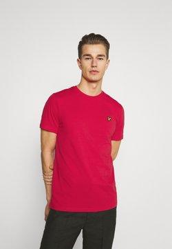 Lyle & Scott - PLAIN - T-shirt basic - gala red