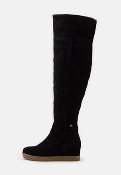 Calvin Klein - FLORENCIA - Keilstiefel - black