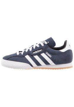 adidas Originals - SAMBA SUPER SUEDE - Sneaker low - marine/running white