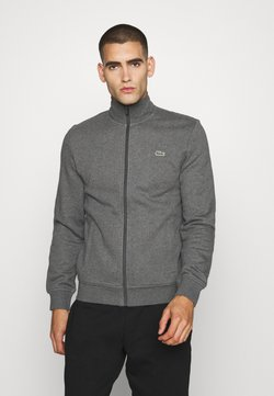 Lacoste Sport - CLASSIC JACKET - Zip-up hoodie - pitch chine/graphite sombre