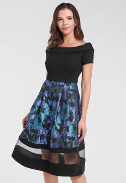 Apart - Cocktailkleid/festliches Kleid - petrol-multicolor