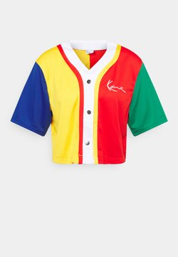 Karl Kani - SMALL SIGNATURE BLOCK BASEBALL - T-shirt print - multicolor