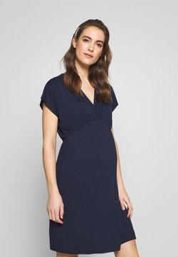 Envie de Fraise - EVI MATERNITY DRESS - Vestito di maglina - navy blue