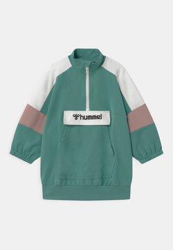 Hummel - VALERIE LONG UNISEX - Sweater - oil blue