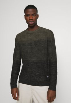 Jack & Jones - JJEGRAHAM CREW NECK - Neule - olive night