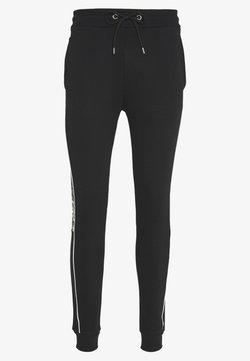 CLOSURE London - CAMO CUT SEW JOGGER - Jogginghose - black
