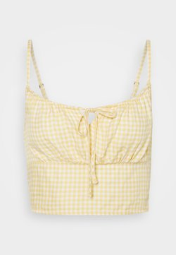 Hollister Co. - TIE BARE - Topper - yellow