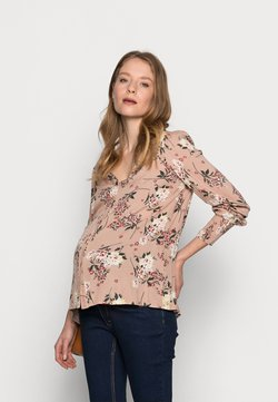 Pieces Maternity - PCMPAOLA  - Bluse - warm taupe