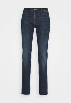 Armani Exchange - POCKETS PANT - Jeans Slim Fit - indigo denim