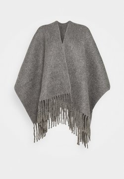 Molly Bracken - LADIES PONCHO - Cape - grey