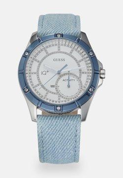 Guess - Rannekello - silver-coloured/ blue denim