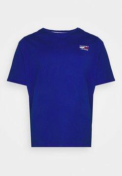 Tommy Jeans Plus - CHEST LOGO TEE - T-shirt basique - cobalt