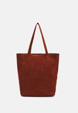 Anna Field - LEATHER - Bolso shopping - red