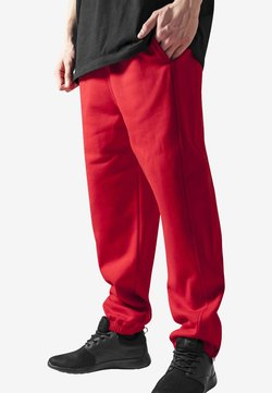 Urban Classics - SWEATPANTS SP. - Jogginghose - red