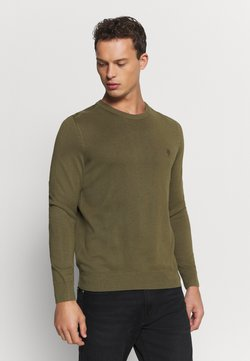 Marc O'Polo - CREW NECK - Strickpullover - ivy green
