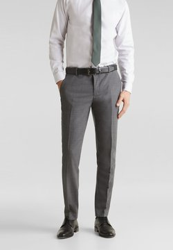 Esprit Collection - ACTIVE - Anzughose - dark grey