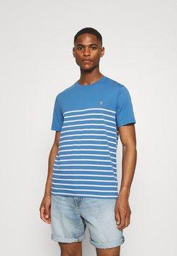 Farah - FLORIDA TEE - T-Shirt print - blue mist
