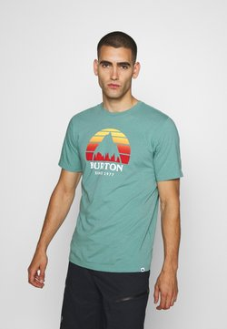 Burton - UNDERHILL TRELLIS - T-Shirt print - trellis