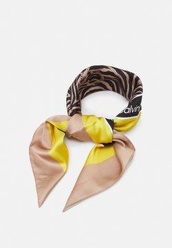Calvin Klein - BANDANA - Foulard - black/brown
