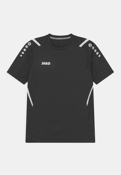 JAKO - CHALLENGE UNISEX - T-shirt z nadrukiem - schwarz/weiß