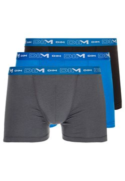 DIM - STRETCH 3 PACK - Shorty - grey/oceanic blue/black