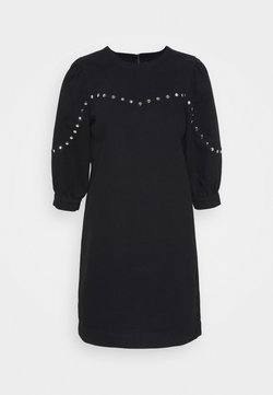 Noisy May - NMSIMONE STUD DRESS - Korte jurk - black