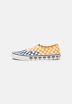 Vans - AUTHENTIC UNISEX - Sneakersy niskie - yellow/blue/white