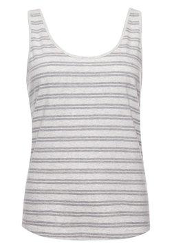 Superdry - Top - grey marl stripe