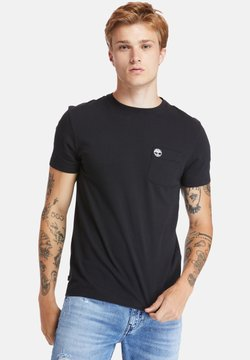 Timberland - SS DUNSTAN RIVER POCKET TEE - T-shirt basic - black
