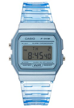 Casio - F-91WS-2EF - Digitaalikello - blue