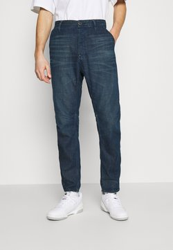 G-Star - GRIP 3D RELAXED TAPERED - Relaxed fit jeans - katon denim o - worn in atoll blue