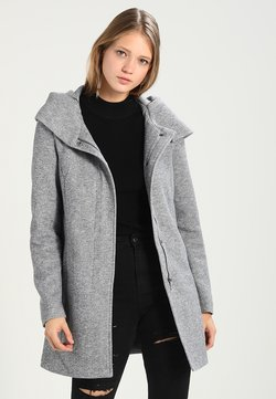 Vero Moda - VMVERODONA - Kurzmantel - light grey melange
