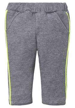TOM TAILOR - MIT TAPEDETAIL - Broek - grau