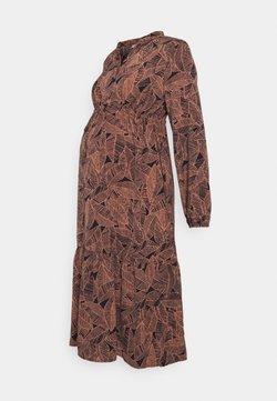 MAMALICIOUS - MLDEE MIDI DRESS - Vestido informal - navy blazer