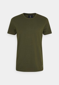 Nerve - JESSE TEE 3 PACK - T-shirt basic - army