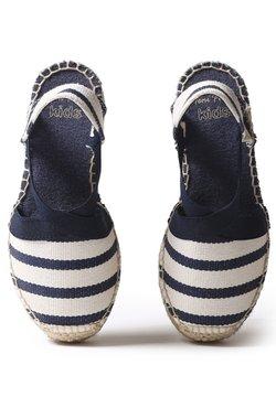 Toni Pons - EDITA  - Keilsandalette - ecru navy stripe