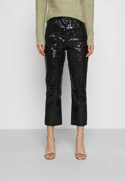 Topshop - CROC EDITOR - Jeans Relaxed Fit - black