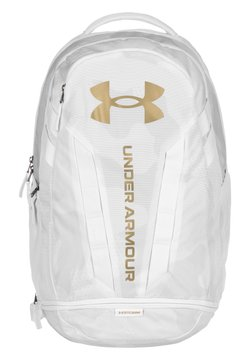 Under Armour - HUSTLE  - Tagesrucksack - white/mod gray
