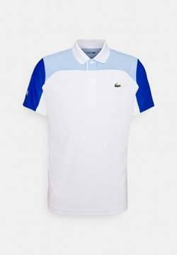 Lacoste Sport - TENNIS - Polo - white/nattier blue