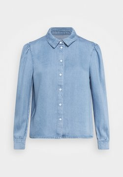ONLY - ONLBILLIE DENIM LIFE DNM SHIRT QYT - Hemdbluse - medium blue denim