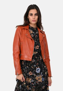 Oakwood - KYOTO  - Veste en cuir - orange