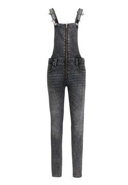 WE Fashion - Tuinbroek - light grey