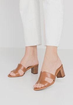 Dune London - JOUPE - Pantolette hoch - tan