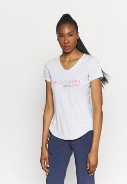 Columbia - TRINITY TRAIL™ II GRAPHIC - T-Shirt print - white